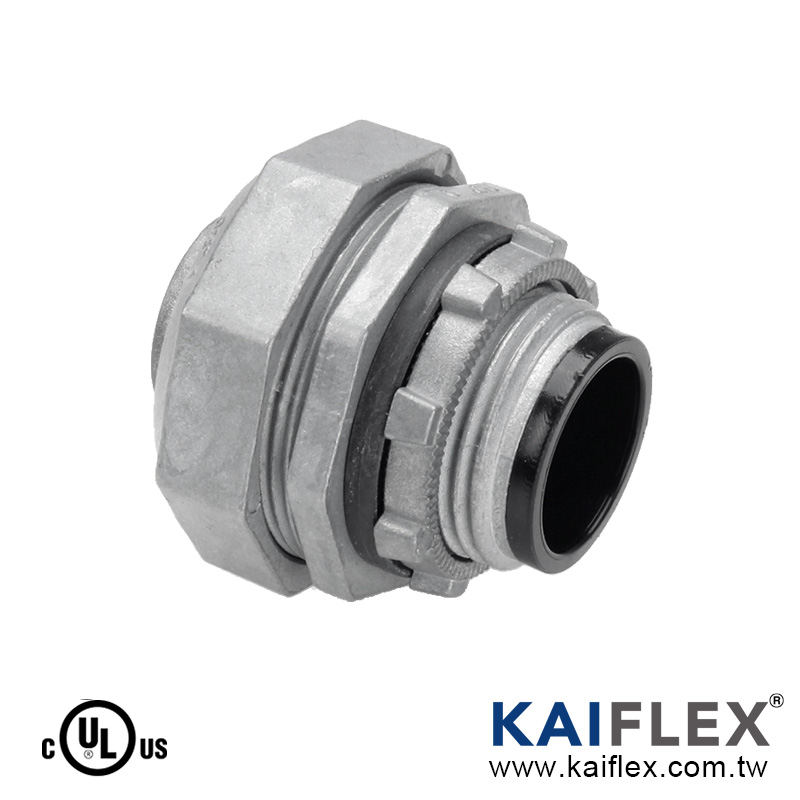 S50 Series Liquid Tight Conduit Fitting, Straight Type, Male Threaded
