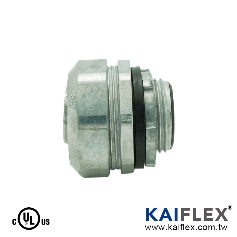 Liquid Tight Tube Fitting, Straight Type, Male Threaded