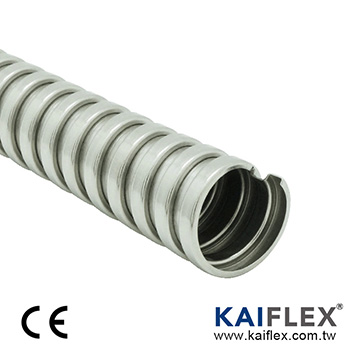 PAS13X Series Flexible Metal Conduit, Square-lock Stainless Steel