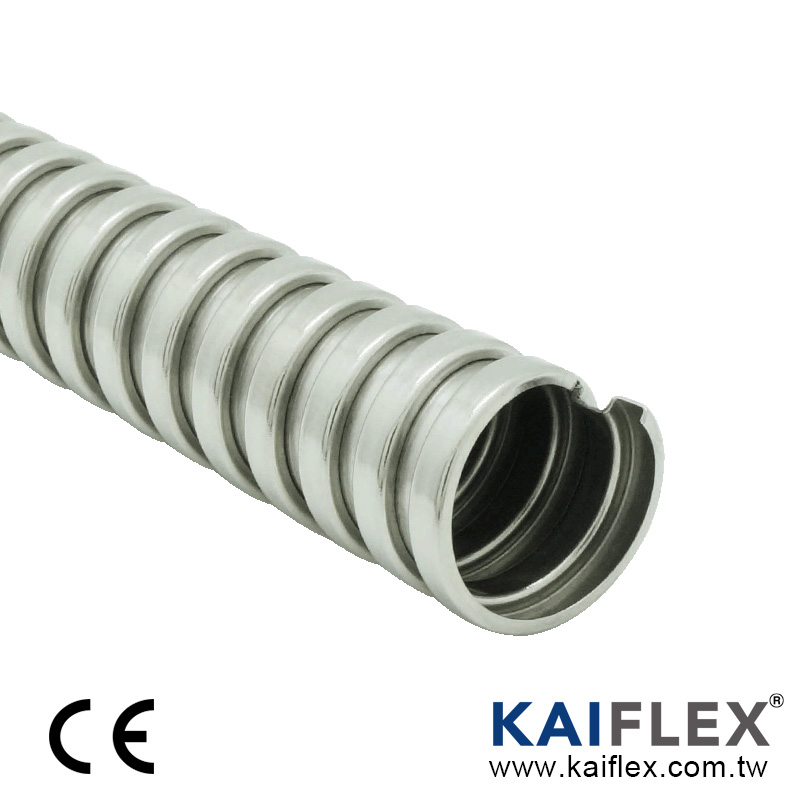 Flexible Metal Conduit, Square-lock Stainless Steel