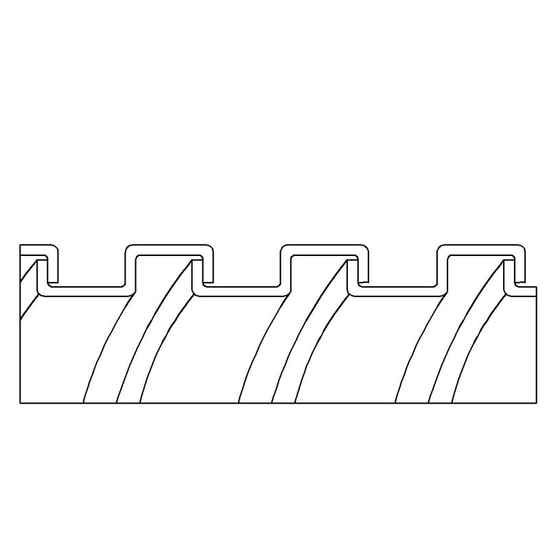 Flexible Metal Conduit, Square-lock Galvanized Steel Spec