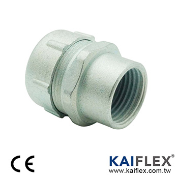 Liquid Tight Conduit Fitting, Straight Type, Female Threaded
