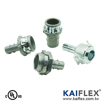 BX Flex Conduit Fitting, Set In Type