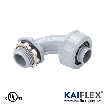 P53 - Liquid Tight Non-Metallic Flexible Conduit Fitting, 90 Degree Elbow