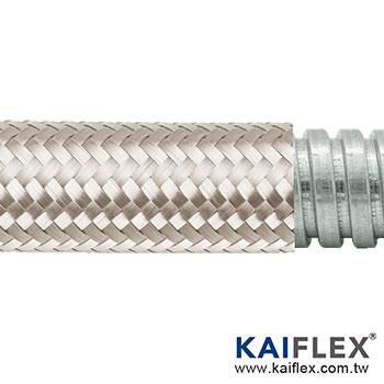 KAIFLEX - 金屬軟管, 單勾鍍鋅鋼, 鍍錫銅編織