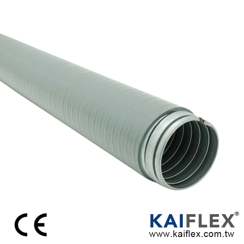 Flexible Metal Conduit, Interlocked Gal, PVC Jacket