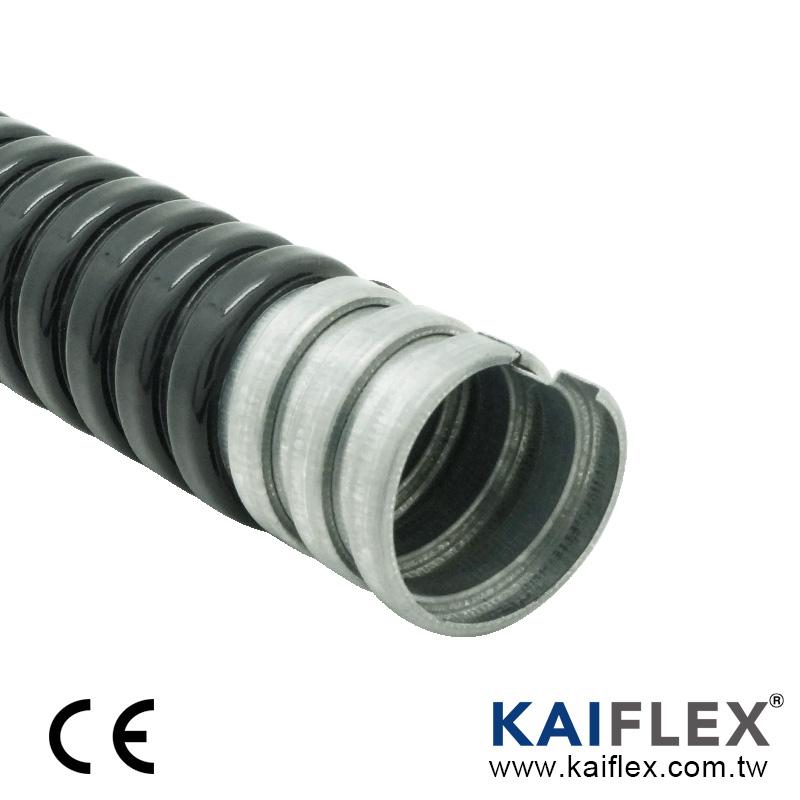 KAIFLEX - 金屬軟管, 單勾鍍鋅鋼, PVC 披覆