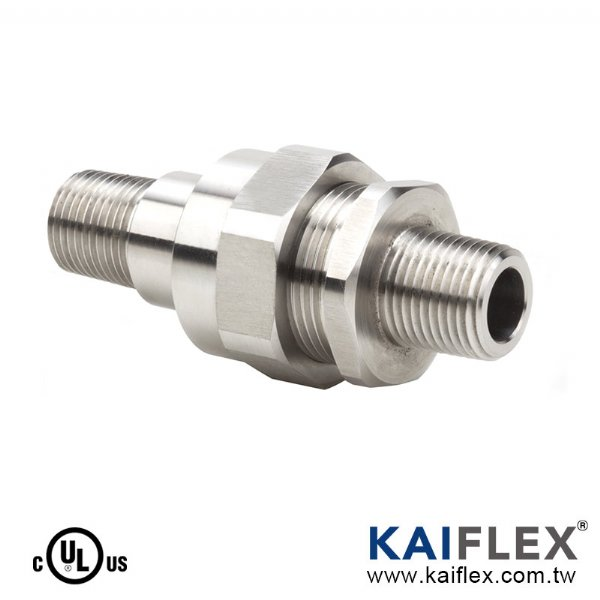 UL Explosion Proof Flexible Coupling Adapter, Straight Type, Two Male Adapter (KF--LK-M)