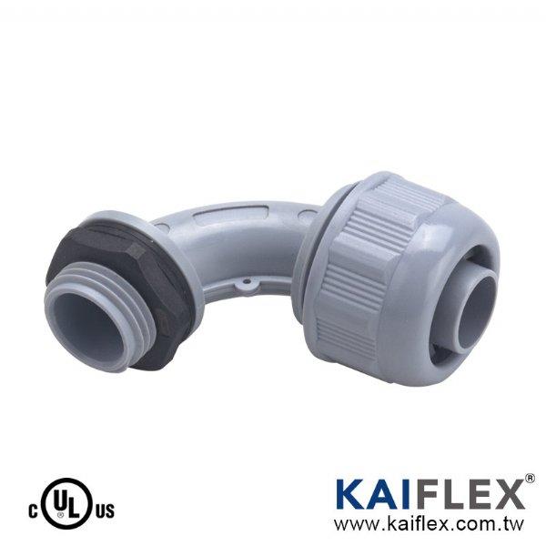 PP63 - Жесткий герметичный неметаллический гибкий кабелепровод, 90 градусов Колено